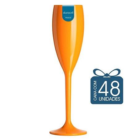 48 Taças Champagne 160 ml Laranja