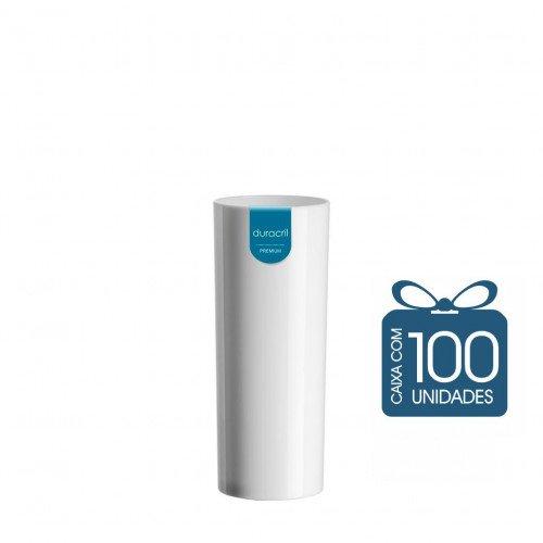 100 Copos Long Drink 330 ml Branco