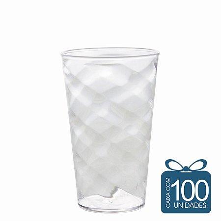 100 Copos Twister 500 ml Transparente