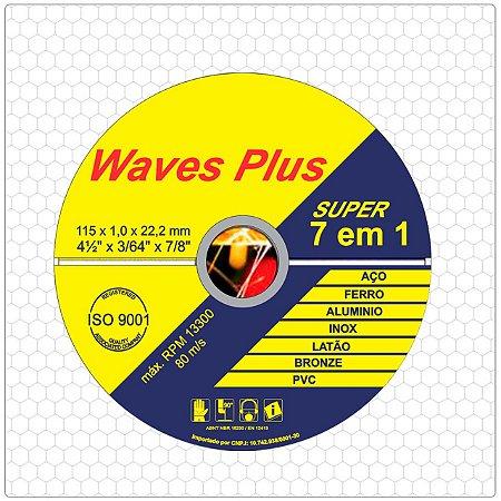 Disco De Corte Inox 4 1/2 - Waves (67523)