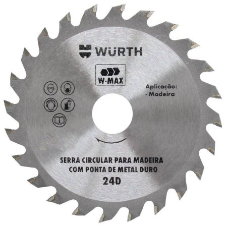 SERRA CIRCULAR MAD 115 X 24D (000489) PROFISSIONAL MAX