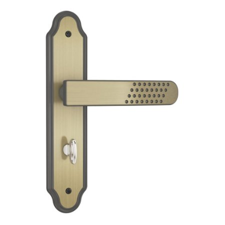 Fechadura 823/21 Espelho Maçaneta Oxidado E-Coat WC - Stam