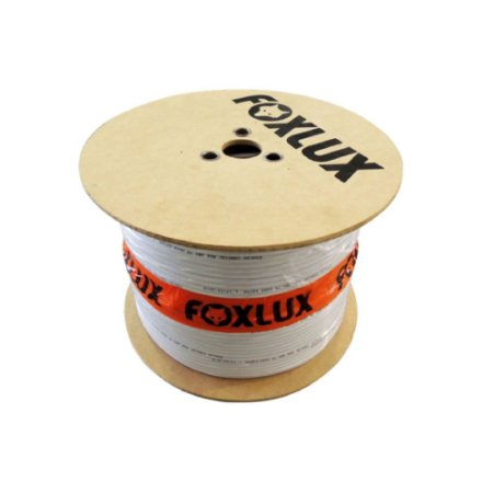 CABO COAXIAL RG 6 95% 100MTS FOX LUX