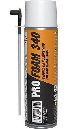 ESPUMA POLIURETANO PRO-FOAM 340G/500ML