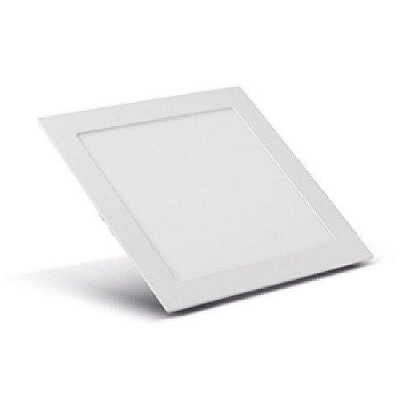 Painel Led 12W Quadrado Embutido 6400K Sorteluz