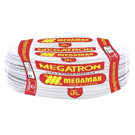 CABO 2,5MM FLEX BRANCO 750V MEGATRON