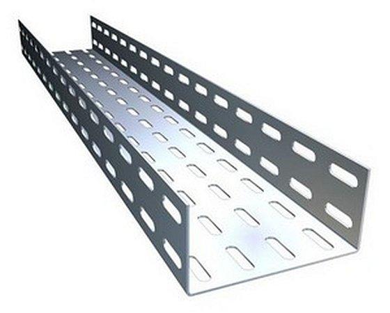 ELETROCALHA PERFURADA 100  X 100 3M ZINC. ELECON