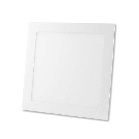 Painel Led 18W Quadrado Embutido 6400k (20396) Sorteluz