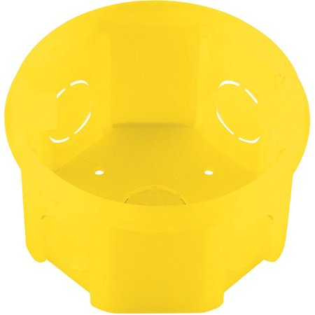 Caixa 3 X 3 Octagonal Redonda Amarelo (2592) - Tramontina