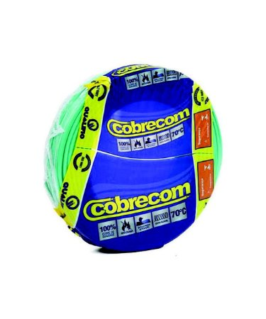 CABO 10,00MM FLEX. VERDE FOREST/NAMBEI/COBRECON