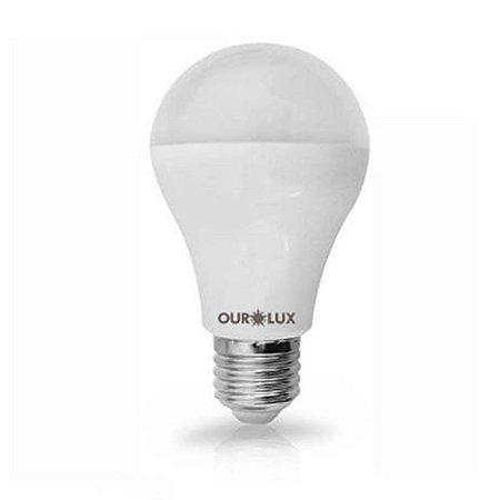Lampada Led Bulbo Controled 3 tons Bi-Volt E27 9W 6500K - Ourolux