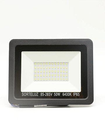 REFLETOR LED 50W 6400K SMD - FORTELUZ