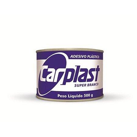 MASSA PLASTICA 500G BRANCA - CARPLAST