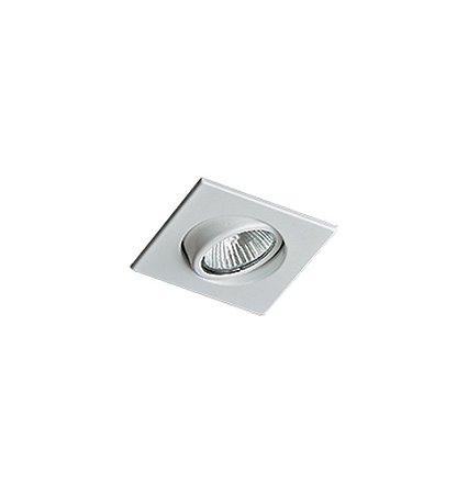 Spot Embutido Quadrado Para Lampada Dicroica Gu10 Nuru (RE-1063) Revoluz