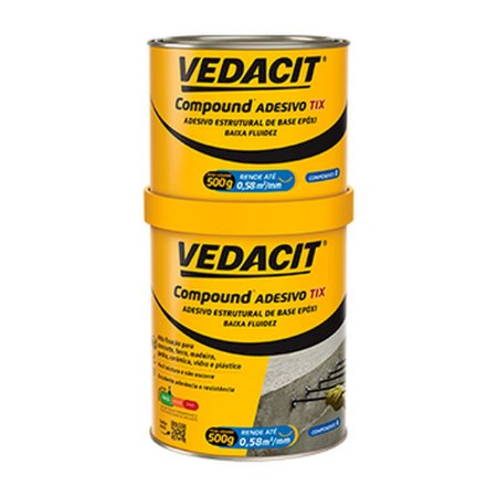 COMPOUND ADESIVO TIX LT 1KG (121812) VEDACIT