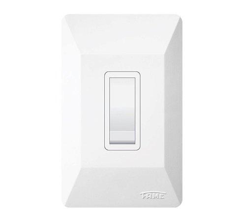 Interruptor Sistemas X 1 Tecla Simples (07109404) - Fame