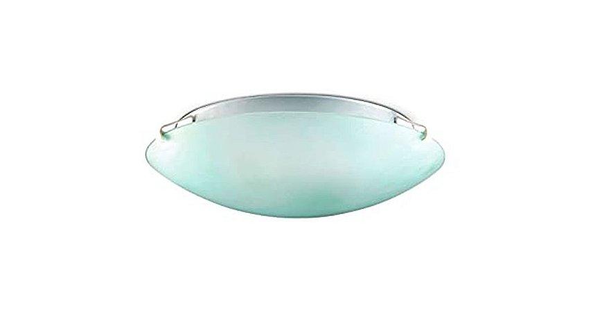 Planfon Redondo 25Cm 1 X 27 AC. Cristal Branco - Blumenau