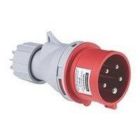 Plug Movel 3P+T 32A 380-415V 06H IP44 (56255038) - Tramontina