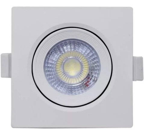 SPOT LED MR16 QUADRADO 5W 6500K - MB