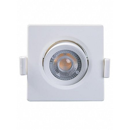 SPOT LED MR11 QUADRADO 3W 6500K - MB