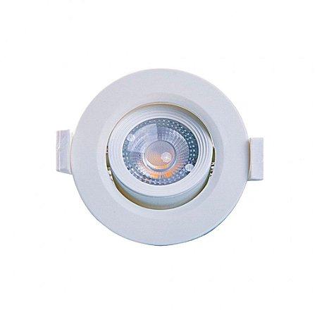 SPOT LED MR11 REDONDO 3W 3000K - MB