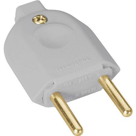 Plug Macho 2P 10A 6 Cores ( 57420901) - Tramontina