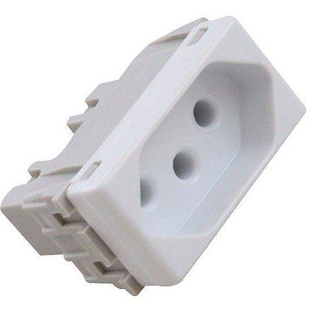 Tomada 2P+T H35 10A 250V Sistema Modular BCA LIZ LUX (57115030) - Tramontina