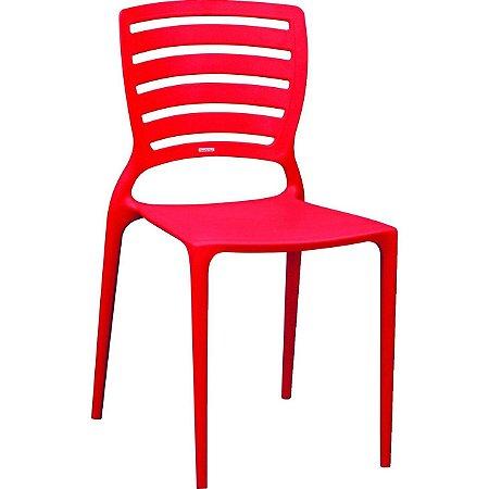Cadeira Sofia EncostoVaz Hz Vermelha (92237/040) - Tramontina