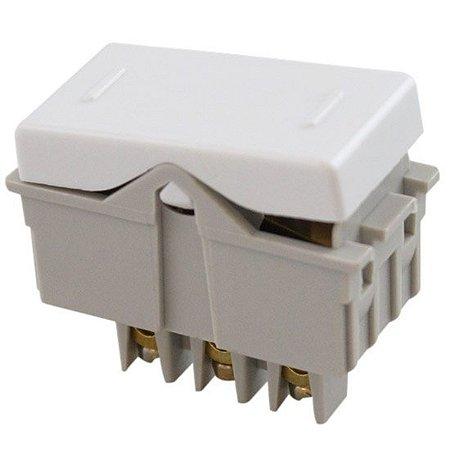 Interruptor Paralelo 10A 250V Sistema Modular Branco (57115002) - Tramontina