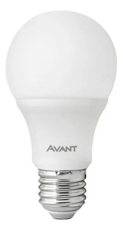 LAMPADA LED BULBO 9W BRANCO QUENTE AVANT