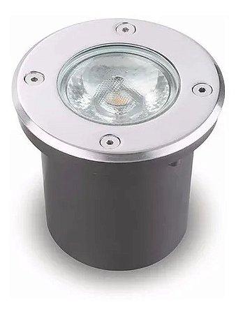 SPOT LED P/ SOLO VINNE REDONDO IP67 24° 10W 3000K - MB