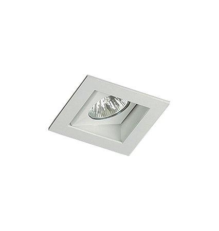 Spot Embutido Quadrado Para Lampada Gu10 LainiI Preto (RE-1123-BFM)  Revoluz