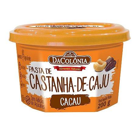 Pasta de Castanha de Caju com Cacau 200g