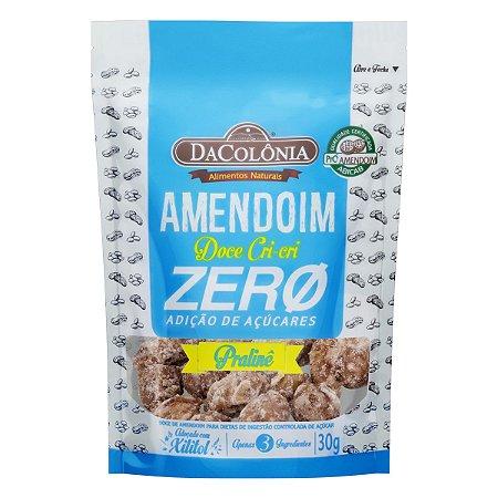 Amendoim Doce Cri-cri Pralinê Zero Açúcar - 30g
