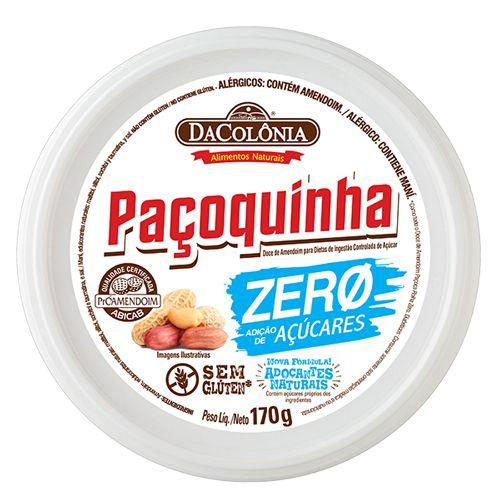 Paçoca Rolha Zero Açúcar 170g