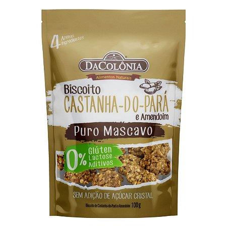 Biscoito de Castanha-do-Pará e Amendoim - 100g