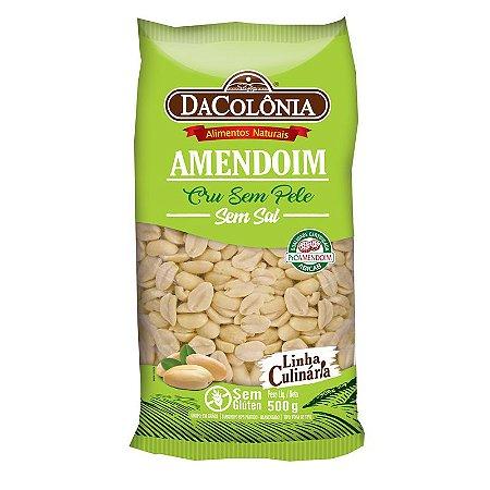 Amendoim Cru sem Pele 500g