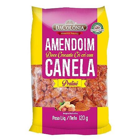 Amendoim Doce Cri-cri Pralinê com Canela 120g
