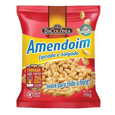 Amendoim Torrado e Salgado 150g