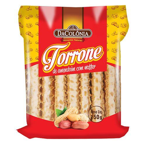 Torrone de Amendoim com Waffer 150g