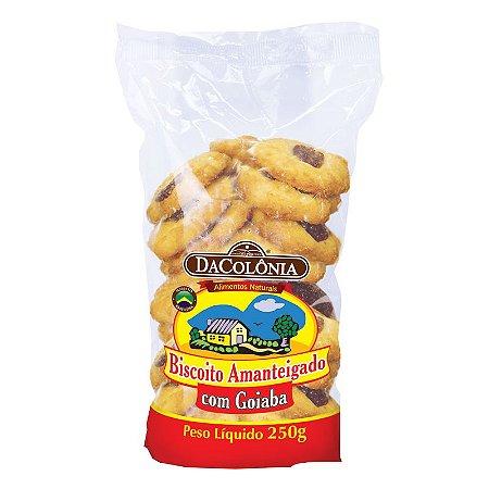 Biscoito Amanteigado com Goiaba - 250g