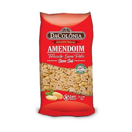 Amendoim Torrado sem Pele 300g