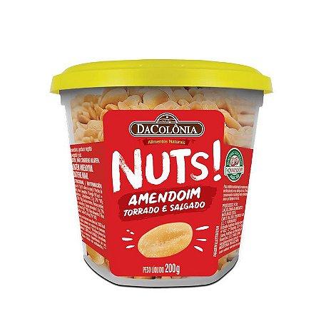 Amendoim Torrado e Salgado Pote 200g