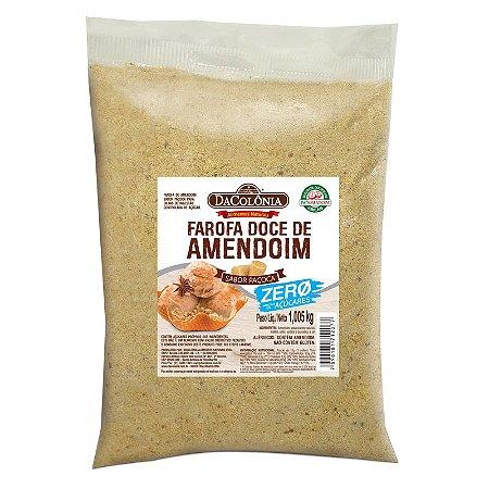 Farofa de Amendoim sabor Paçoca Zero Açúcar 1,005kg