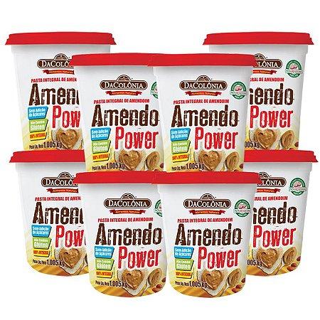 SUPER COMBO (Kit 08 un Amendo Power Pasta Integral de Amendoim 1,008Kg)