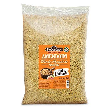 Amendoim Torrado e Granulado Sem Sal 1,005Kg