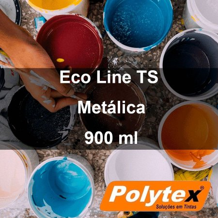 Eco Line TS Metálica - 900 ml