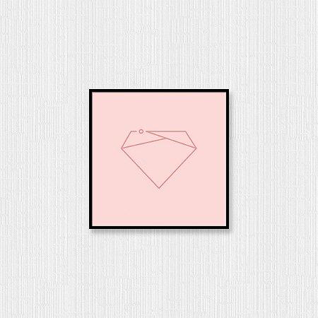 Quadro Decorativo Diamante