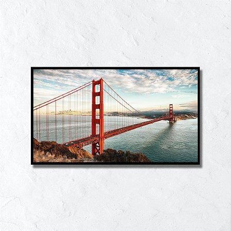Quadro Decorativo Ponte Golden Gate