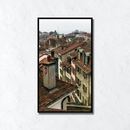 Quadro Decorativo Suíça